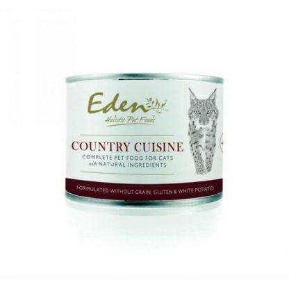 EDEN HOLISTIC 70/30 COUNTRY CUISINE CAT FOOD KONZERV 200G