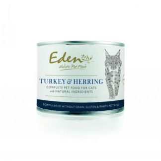 EDEN HOLISTIC 70/30 TURKEY AND HERING CAT FOOD KONZERV 200G