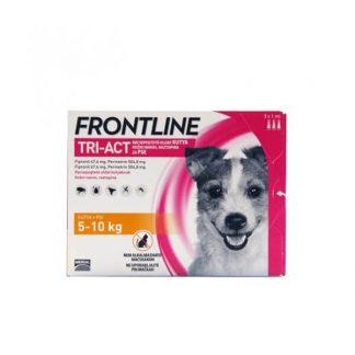frontline-tri-act-spot-on-2-5kg-3pipetta