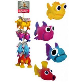 papillon-kutyajáték-latex-nagy-szemű-halak-10-14cm