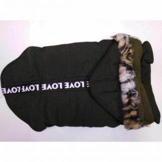 zebrapet-kutyaruha-zöld-32cm