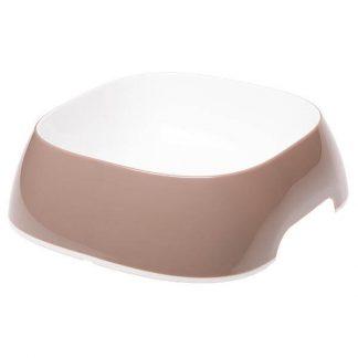 ferplast-glam-műanyag-tál-szögletes-L-galambszürke-1.2-l