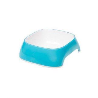 ferplast-glam-műanyag-tál-szögletes-s-azurkék-04L