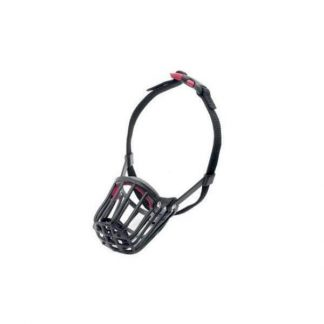karlie-szájkosár-műanyag-6-29x30x52cm-fekete_