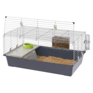 ferplast-rabbit-100-nyúl-ketrec-felszereléssel