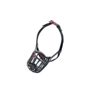 karlie-szájkosár-műanyag-9-37x35x64cm-fekete