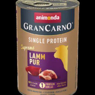 Animonda GranCarno Adult (single protein) konzerv - Felnőtt kutyák részére, bárányhússal (400g)