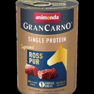 Animonda GranCarno Adult (single protein) konzerv - Felnőtt kutyák részére, lóhússal (400g)