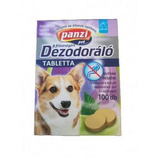 Panzi-Vitamin-Dezodoralo_test-es-szajszag-ellen-kutyak-reszere-100db