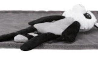 Trixie Cuddly Set - takaró és plüss szett (sötét szürke) kutyák részére (75x50cm)