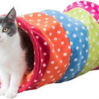 Trixie Playing Tunnel - játék (alagút) macskák részére (Ø25x50cm)