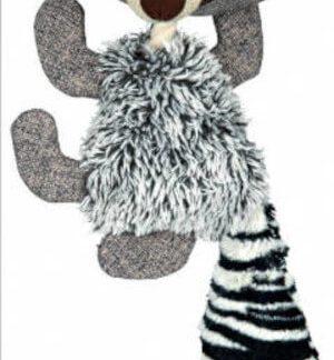 Trixie Racoon Pluss Toy - plüss-kötél játék (mosómedve) kutyák részére (41cm)