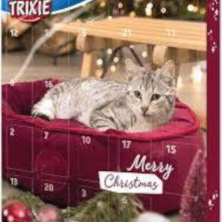 Trixie Xmas Advent Calendar for Cats - jutalomfalat (több féle) macskák részére