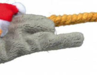 Trixie Xmas Mice and Squirrels - plüss játék (zörgő egér) macskák részére (14-17cm)