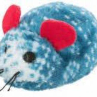 Trixie Xmas Toys Star, Mouse, Gingerbreadman - plüss játék (csillag,egér,mézeskalácsfigura) macskák részére (8-10cm)