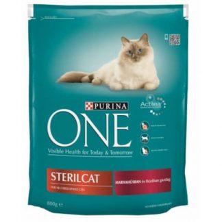 ONE Száraz Macska Sterilcat Marha+Búza 1,5kg